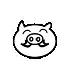 動く!ギリシャ文字の顔文字 [動物ver](個別スタンプ:13)