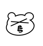 動く!ギリシャ文字の顔文字 [動物ver](個別スタンプ:14)