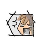 日常使えるフレークシール風スタンプ(個別スタンプ:09)