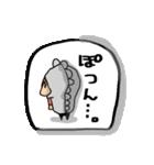 日常使えるフレークシール風スタンプ(個別スタンプ:35)