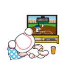 野球クマさん(個別スタンプ:29)