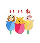 動く!ディズニー ツムツム(さくら)(個別スタンプ:10)