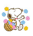 スヌーピー 春のアニメスタンプ(個別スタンプ:03)