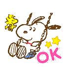 スヌーピー 春のアニメスタンプ(個別スタンプ:04)