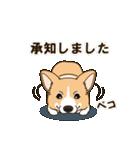 気軽にスタンプ コーギー 行動編(個別スタンプ:07)