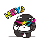 DJ Hello Kitty(個別スタンプ:09)
