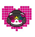 DJ Hello Kitty(個別スタンプ:13)