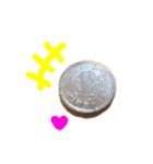 【実写】小銭(個別スタンプ:01)