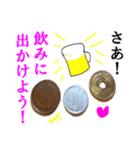 【実写】小銭(個別スタンプ:02)