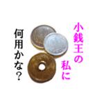 【実写】小銭(個別スタンプ:36)