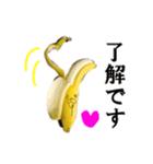 【実写】バナナ(個別スタンプ:16)