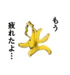 【実写】バナナ(個別スタンプ:38)