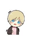 金髪少年(個別スタンプ:07)
