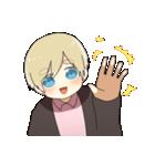 金髪少年(個別スタンプ:34)