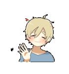 金髪少年(個別スタンプ:40)
