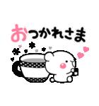 大人のライトモノトーン【しろくまさん】(個別スタンプ:05)