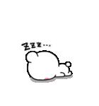 大人のライトモノトーン【しろくまさん】(個別スタンプ:40)