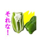 【実写】ピーマン(個別スタンプ:01)