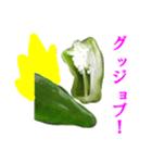 【実写】ピーマン(個別スタンプ:20)