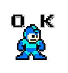 ロックマン ドット&サウンド(個別スタンプ:01)