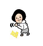 吹き出しのお供に!【3】白目スタイル40個(個別スタンプ:02)