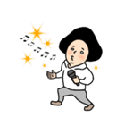 吹き出しのお供に!【3】白目スタイル40個(個別スタンプ:12)