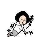 吹き出しのお供に!【3】白目スタイル40個(個別スタンプ:19)
