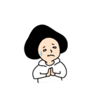 吹き出しのお供に!【3】白目スタイル40個(個別スタンプ:24)