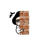吹き出しのお供に!【3】白目スタイル40個(個別スタンプ:25)