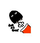 黒メジェド(個別スタンプ:05)