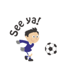 No Football, No Life - 英語(個別スタンプ:15)