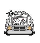 ネコのしろまるくん 【ママバージョン】(個別スタンプ:3)