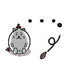 ネコのしろまるくん 【ママバージョン】(個別スタンプ:12)