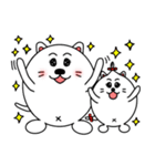 ネコのしろまるくん 【ママバージョン】(個別スタンプ:30)