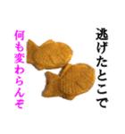 【実写】たいやき(個別スタンプ:03)