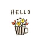 Flower vase(個別スタンプ:02)