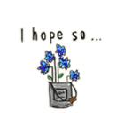 Flower vase(個別スタンプ:10)