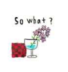 Flower vase(個別スタンプ:11)