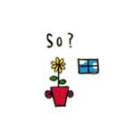 Flower vase(個別スタンプ:13)