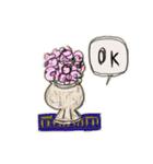 Flower vase(個別スタンプ:19)