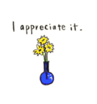 Flower vase(個別スタンプ:22)