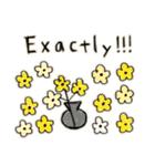 Flower vase(個別スタンプ:24)