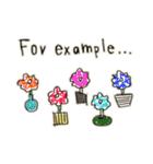 Flower vase(個別スタンプ:27)