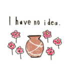 Flower vase(個別スタンプ:28)