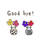 Flower vase(個別スタンプ:32)