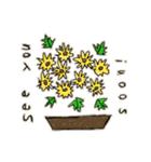 Flower vase(個別スタンプ:34)