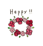 Flower vase(個別スタンプ:39)
