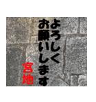 宮地さんの名前スタンプ(個別スタンプ:01)