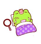 蛙探偵ケロ・ホームズ(個別スタンプ:02)
