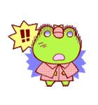 蛙探偵ケロ・ホームズ(個別スタンプ:04)